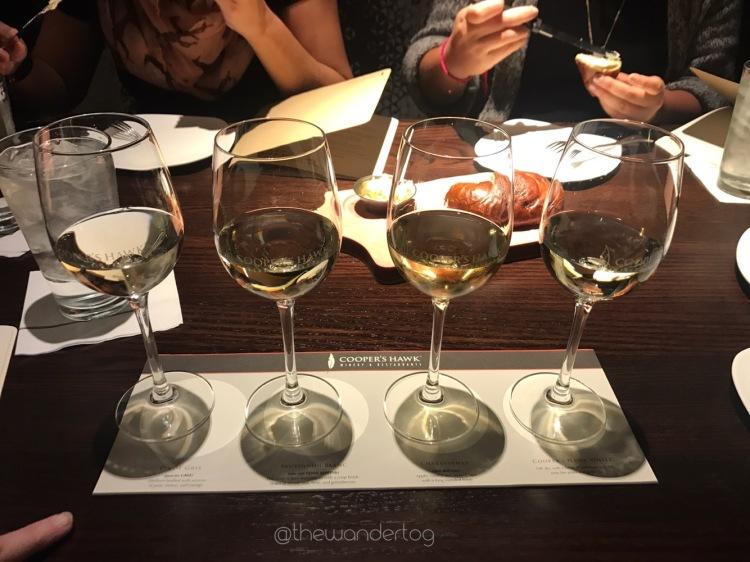 Wine Flight: White Collection