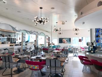 Vagabond Kitchen and Bar Interior